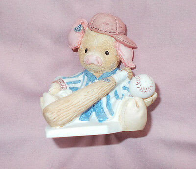 This Little Piggy Cried Whee! All the Way Home Enesco 1994 Mary Rhyner 124567