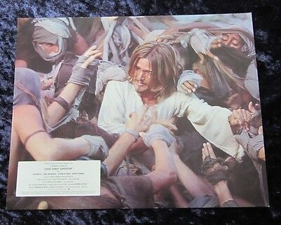 JESUS CHRIST SUPERSTAR lobby card #6 - mini uk card - 8 x 10 inches TED NEELY