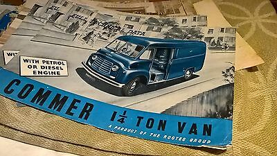 COMMER commercial vehicle brochures