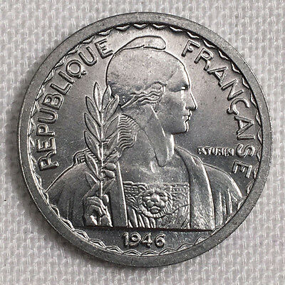 1946(a) French Indo China 5 Centimes Choice BU #FP211