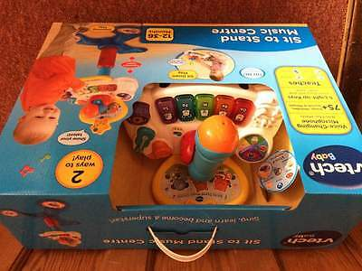 Vtech Sit To Stand Music Centre Brand New In Box *duplicate Gift*