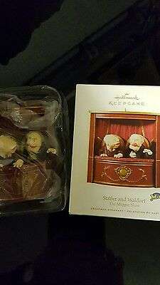 Muppet Show Ornament - Statler and Waldorf new / boxed from Hallmark Collectable