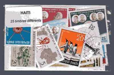 Haiti 25 timbres différents
