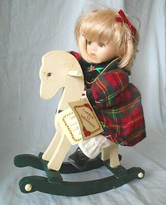 Genuine Fine Bisque Hand Painted Porcelain Collectors Doll--Limited Edition