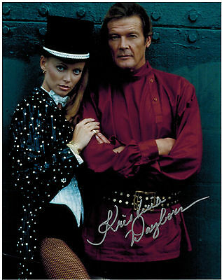 KRISTINA WAYBORN - JAMES BOND - Original Hand Signed Autograph 8x10 Photograph