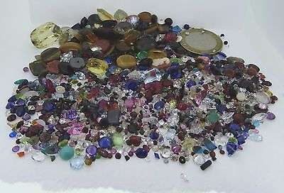 huge lot of loose gemstones gems from scrap gold mixed lot
