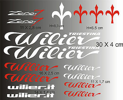 WILIER  ADESIVI stickers aufkleber autocollant WELCOME international buyers