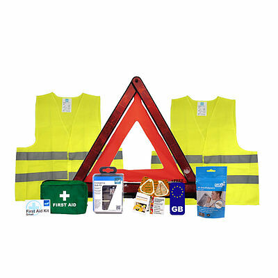 Travel Abroad Euro Car Kit - Driving in france Kit - French Silver kit