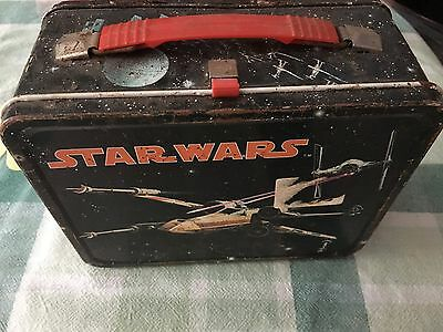 1977 Vintage Star Wars Lunch Box With Thermos
