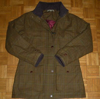 "Laksen ""36"" CTX Waterproof Hunting Shooting Tweed Womens Jacket Ladies Coat"