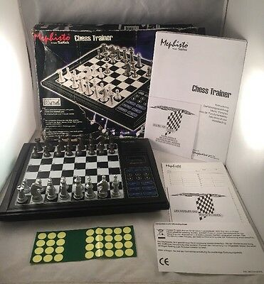Mephisto Chess Trainer computer Boxed  Complete Fully Working
