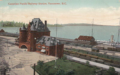 VANCOUVER, British Columbia, Canada, 1900-10s; Canadian Pacific Railway Station