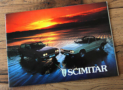 Reliant Scimitar sales brochure