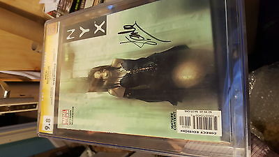 nyx 3 cgcss 9.8 signed by stan lee first x23 - movie wolverine marvel comic