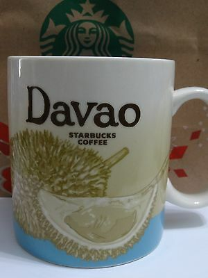 NEW Starbucks DAVAO Philippines city Icon 16 oz mug