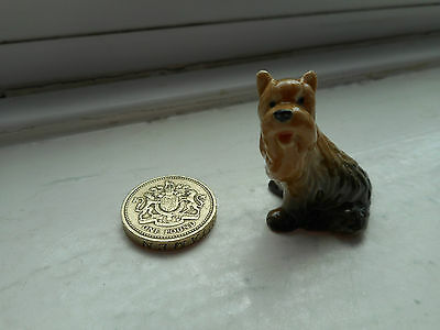 Yorkshire Terrier - Beautiful Miniature Pottery Yorkie, Yorkshire Terrier