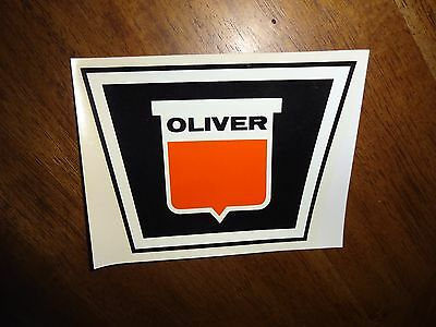 Vintage Oringal Nos Oliver Employees Decal Tracto- Farm Machinery 1962