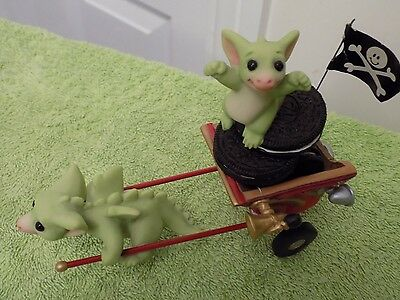 Go Go Getaway Cart Pocket Dragon by Real Musgrave