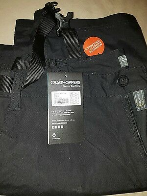 Craghoppers Mens Classic Kiwi Trousers Outdoor Walking Hiking Camping