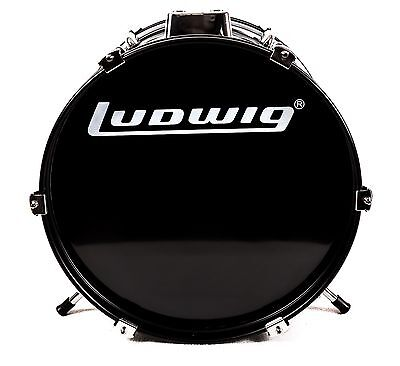 Ludwig Accent CS Combo Jr Bass Drum 16 x 11 Black