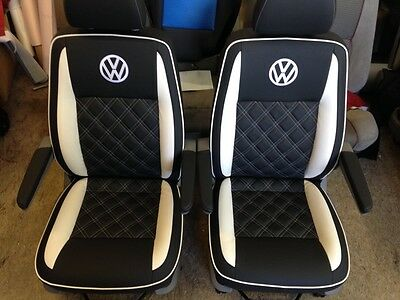 Vw T5 T4 Transporter seats re-trimming service