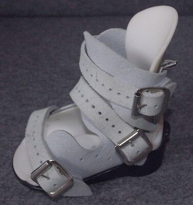 Ankle foot orthotic sandal (single) size 2 grey and blue