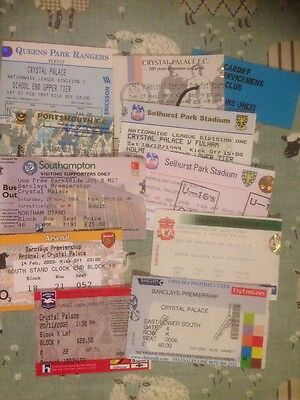 10 Crystal Palace Home & Away Tickets Brighton Chelsea Liverpool