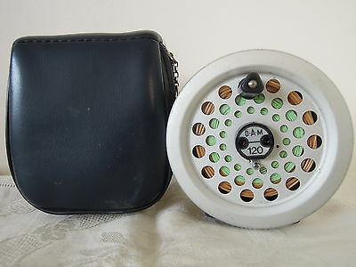D.A.M DAM Quickfly 120 Fly Fishing Reel with Reel Case