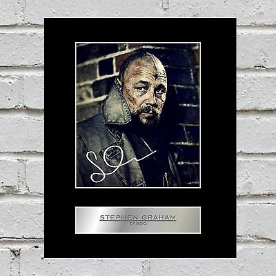 Stephen Graham Signed Mounted Photo Display Taboo