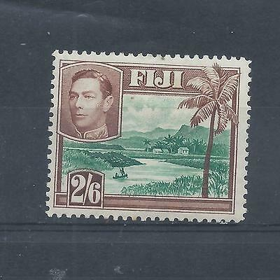 Fiji stamps. George VI 2s6d MH.  (Y645)