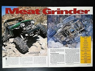 """1981 Jeep CJ-7  """"Meat Grinder""""   - 2-Page Article"""