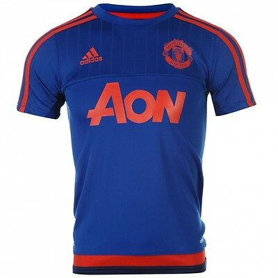 Adidas Manchester United Youth Blue Jersey - AC1498 Youth XL