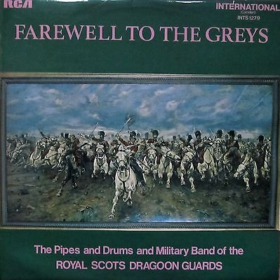 Royal Scots Draoon Guards - Farewell to The Greys (Vinyl, Ex.Cond., 1971)