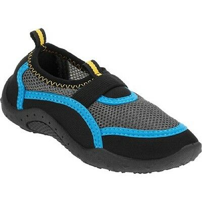 Bt Unbranded Water Shoe, Black/Blue, Small 5/6