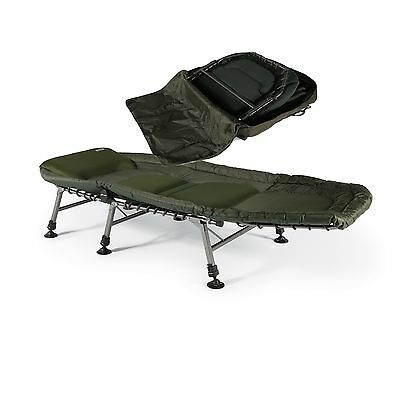 Cyprinus Base Zoneout King Size Carp Fishing Bedchair And Bag Combo Deal