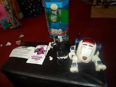 Fisher Price Rocket the Wonder Dog Robotic Pet COMPLETE WITH HEADSET USED TWICE