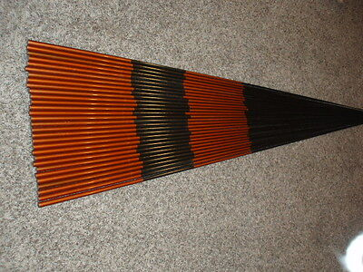 30 Rod Building Wrapping Unknown Graphite rod blanks woven color 6' long nice