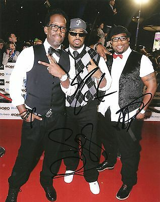 Boyz Ii Men Signed 8X10 Photo Proof Coa Autographed Motown Philly 2