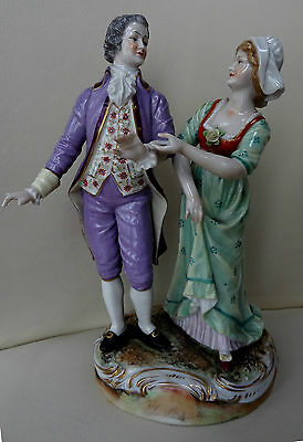 "High Quality 9"" Volkstedt German Porcelain Figure Group #2"