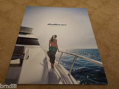Hatteras Motor Yachts Large Color Marketing Brochure - 69 Pages - Dated 2015