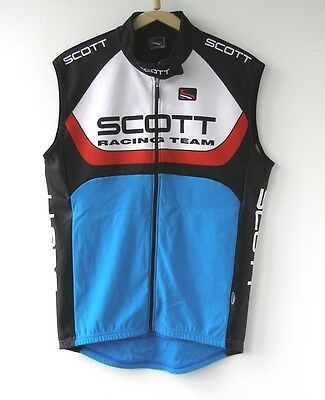 SCOTT USA RACING TEAM Vest CYCLING SHIRT TRIKOT JERSEY BIKE RAD MTB size L-XL