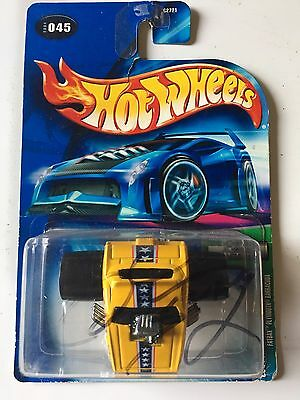 Hot Wheels AUTOGRAPHED Don Prudomme Cuda FUNNY CAR FATBAX SHIP IN 24