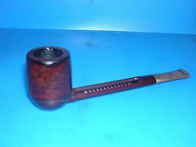 Smoking Pipe Falcon Red Extra Straight With Dublin Bowl. VGC