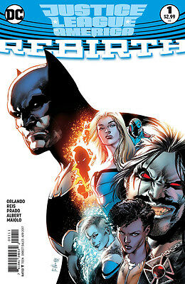Justice League Of America Rebirth #1 - 1St Print -  Boarded. Free Uk P+P