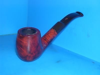 Smoking Pipe Unused Rare Lorenzo Meerschaum Lined Half Bent Estate Pipe VGC