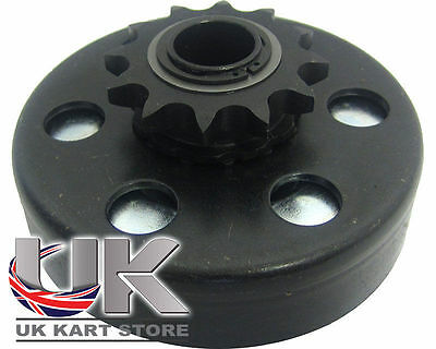Max-Torque 12t 428 Pitch Embrayage Centrifuge Avec Plein Ressort UK KART STORE