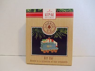 Hallmark Ornament 1991 Gift Car - Claus and Company R.R. - #XPR9731