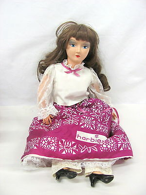 Boudoir Style Doll with Outfit, Brown Hair