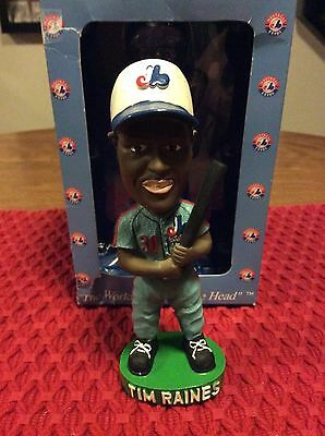2002 Montreal Expos Tim Raines Bobblehead! #749 Out Of 5000 Made!!!