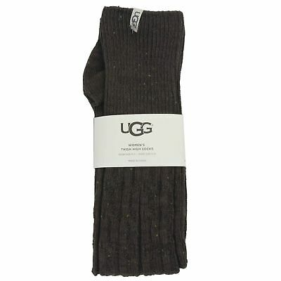 Ugg Women's Slouchy Speckle Thigh High Socks Demitasse 5-10